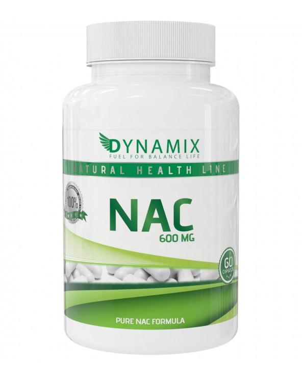 NAC Dynamix 60 Caps 600mg